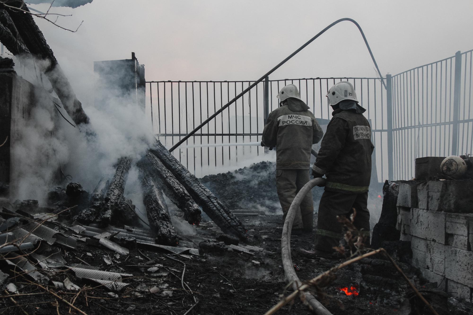 ущерб залив пожар