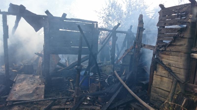 В Воронежской области 10-летний ребенок едва не сжег соседский дом