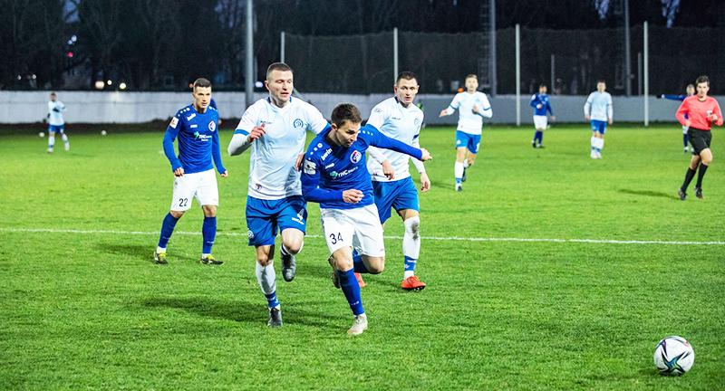Футболисты воронежского «Факела» и минского «Динамо» разошлись ничьей